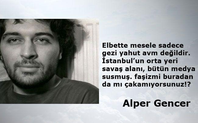 Twitter'da 'Gezi Parkı' direnişi