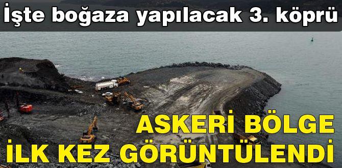 İşte İstanbul Boğazı'na yapılacak 3. köprü