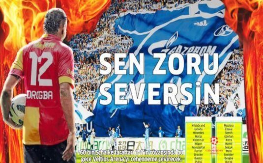 İşte günün Galatasaray manşetleri...