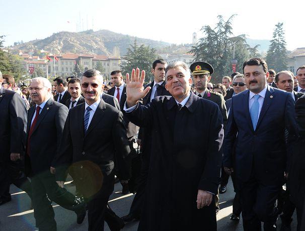 Kastamonu'da Cumhurbaşkanı'na yoğun ilgi