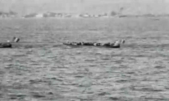 Yunanlar'ın İzmir'den kaçış görüntüleri