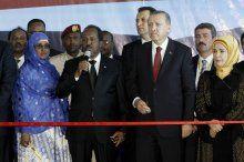Cumhurbaşkanı Erdoğan, Somali'de hastane açtı