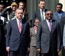 Erdoğan Etiyopya'da törenle karşılandı