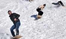 Kaçkar Dağları'nda Lazboard heyecanı