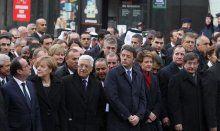 Paris'te teröre karşı 1 milyonluk dev yürüyüş