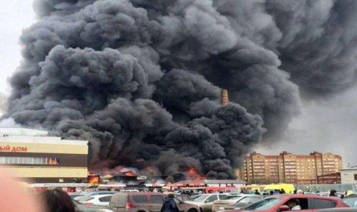 Korkunç AVM yangını: 5 ölü, 50 yaralı