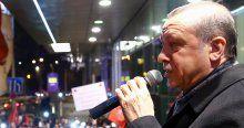 Slovakya'daki gurbetçiler Erdoğan'a koştu