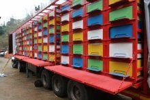 Karadeniz usulü arı nakliye aracı