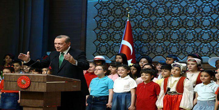 Cumhurbaşkanı Recep Tayyip Erdoğan'ın Kabulü