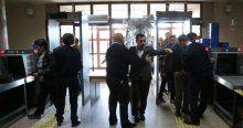 Adliye binalarında güvenlik önlemleri arttı