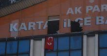 AK Parti Kartal ilçe binasına baskın