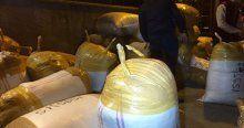 Çalınan 500 bin dolarlık tekstil ürünü kargoda ele geçirildi