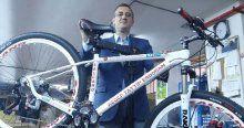 Cumhurbaşkanı Erdoğan'a özel bisiklet