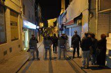 Kapalıçarşı'daki eylem polis müdahalesi ile son buldu