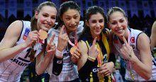 Süper Şampiyon Fenerbahçe'nin gecesinden süper kareler