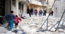 Suriye ordusu öğrencileri vurdu