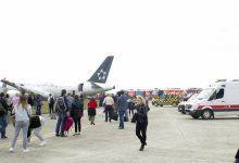 THY uçağındaki dehşet yolcular tarafından görüntülendi