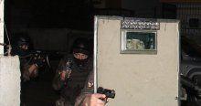 Torbacılara 500 polisle şafak operasyonu