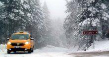 Uludağ'da kar yağışı etkili oluyor