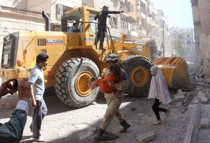 Esed'in bombaları çoluk çocuk gözetmedi