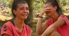 Survivor Merve Aydın'ın gözyaşları