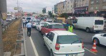 11 Araç birbirine girdi, Ümraniye-Şile Yolu felç oldu