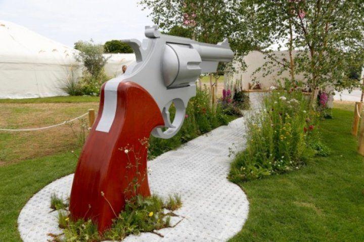 Türk bahçeleri İngiliz sarayında