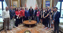 Cumhurbaşkanlığı Sarayı'nda makam turu