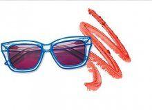 En Moda Gözlük & Ruj Kombinleri