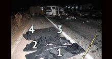 Şanlıurfa'da feci trafik kazası, 4 ölü, 2 yaralı
