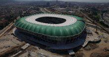 Timsah Arena havadan böyle büyüledi