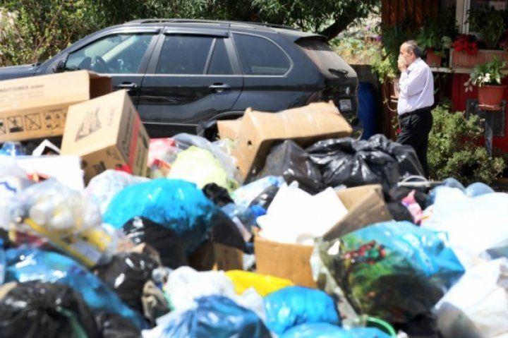 Lübnan'daki çöp krizi sürüyor