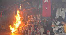 Alanya'da şehit isyanı! HDP tabelası söküldü, Türk Bayrağı asıldı