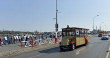 İstanbul'da nostaljik otobüslerle bayram gezisi