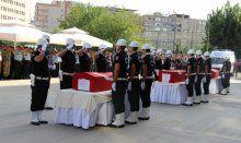 Türkiye 3 şehidini sonsuzluğa uğurladı