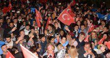 AK Parti'nin zaferini böyle kutladılar