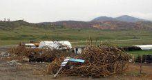 PKK'nın havaya uçurduğu köprü yeniden yapılıyor