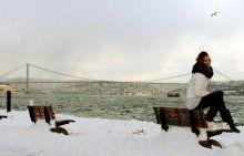 İstanbul yeni yıla bembeyaz girdi