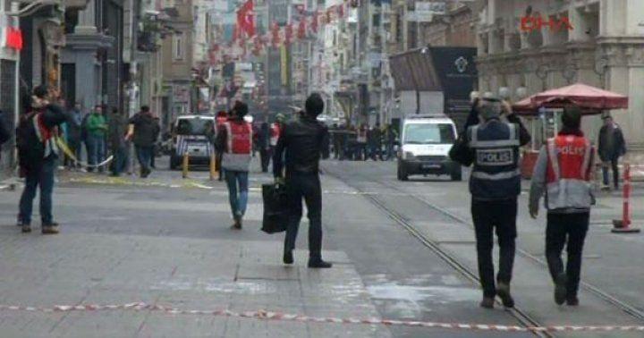 İstiklal Caddesi'nde patlama!
