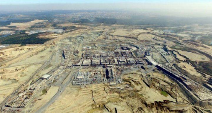 3. Havalimanı inşaatı 'darbe' almadan yükseliyor