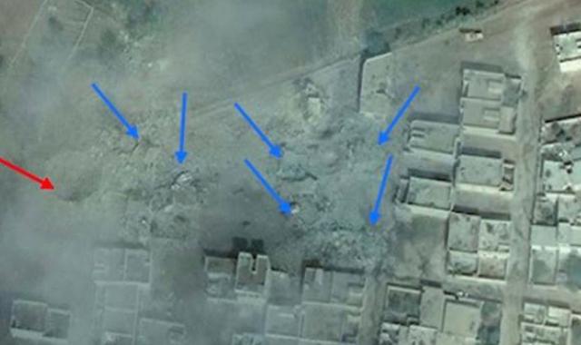 İşte Kobani'nin uydudan çekilmiş son hali