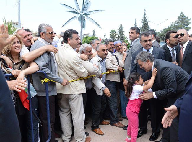 Cumhurbaşkanı Abdullah Gül Reyhanlı'da