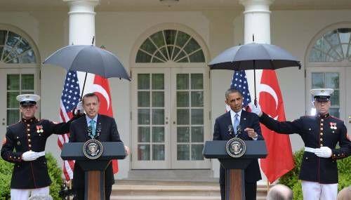 Erdoğan ve Obama'dan benzer hareketler