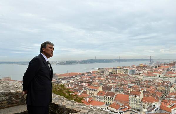 Cumhurbaşkanı Gül 'Lizbon İstanbul'a benziyor'