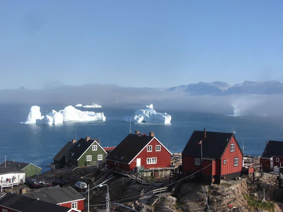 Buz ülkesinden müthiş manzaralar