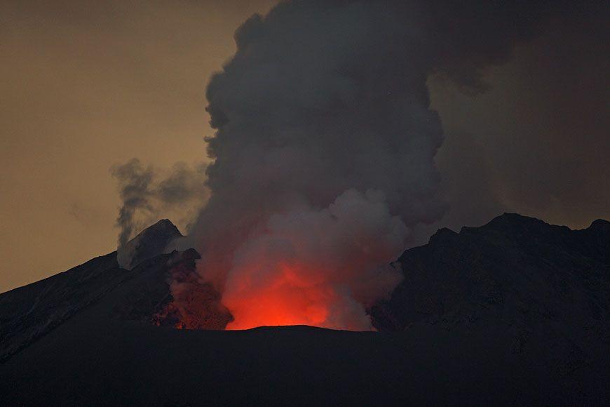 Kare Kare Yanardağ Patlaması