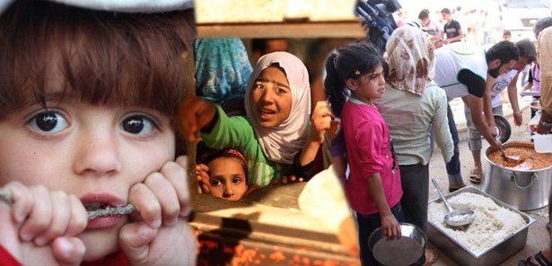 Suriye'deki dramı anlatan acı kareler