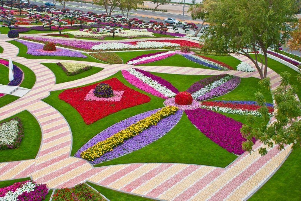 Muhteşem çiçek bahçesi rekorlar kitabına girdi