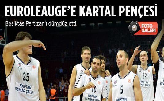 Euroleague'e Kartal pençesi!