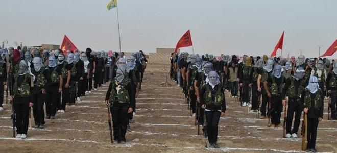 YPG Kamışlı`da 2. tugayını kurdu